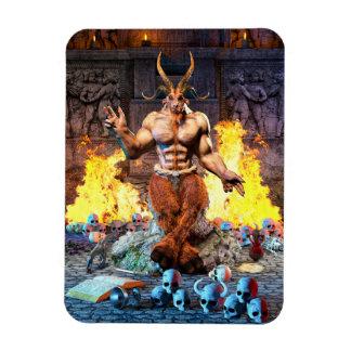 Magnet Flexible Chèvre sabbatique Baphomet satanique
