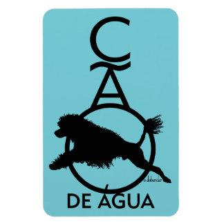 Magnet Flexible Chien d'eau portugais Diving Cao de Agua