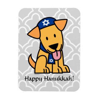Magnet Flexible Chiot juif de Hanoukka labrador retriever