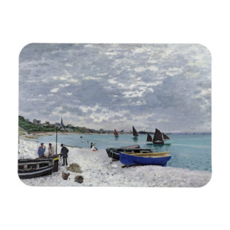 Magnet Flexible Claude Monet | la plage chez Sainte-Adresse