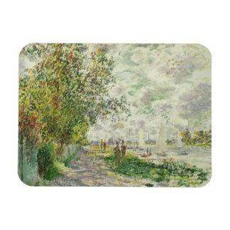 Magnet Flexible Claude Monet | la rive chez Gennevilliers