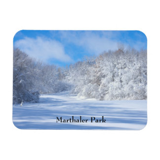 Magnet Flexible Collines de Milou de parc de Marthaler