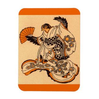 Magnet Flexible Conte de fées japonais le moineau de coupe de