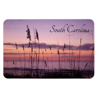 Magnet Flexible Coucher du soleil de la Caroline du Sud avec