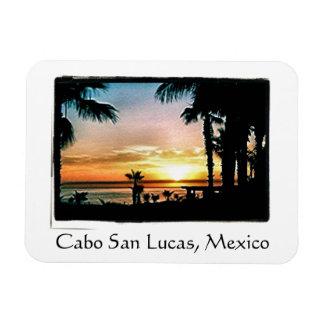 Magnet Flexible Coucher du soleil paisible de Cabo