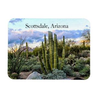Magnet Flexible Coucher du soleil succulent de Scottsdale,