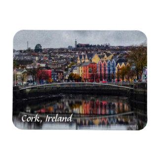 Magnet Flexible Couleurs de l'Irlande de liège dans l'aimant