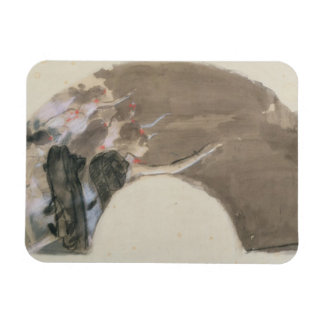 Magnet Flexible Croquis d'Edgar Degas | pour une fan, c.1879