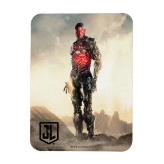 Magnet Flexible Cyborg de la ligue de justice   sur le champ de
