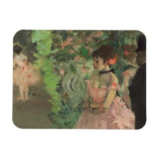 Magnet Flexible Danseurs d'Edgar Degas | à l'arrière plan,