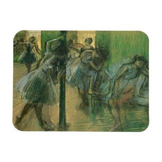 Magnet Flexible Danseurs d'Edgar Degas | préparant