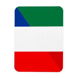 Magnet Flexible de symbole de pays de drapeau de l'Italie France