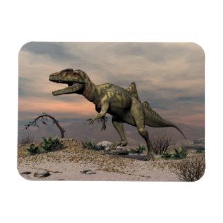 Magnet Flexible Dinosaure de Concavenator dans le désert