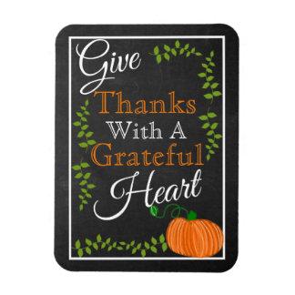 Magnet Flexible Donnez à des mercis ce thanksgiving