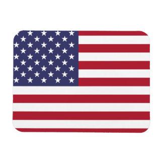 """Magnet Flexible """"Drapeau national des Etats-Unis d'Amérique"""