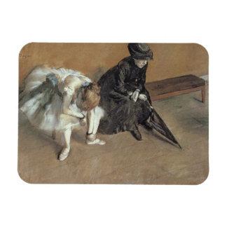 Magnet Flexible Edgar Degas | attendant, c.1882
