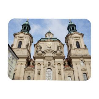 Magnet Flexible Église de photo de souvenir de Nicholas Prague de