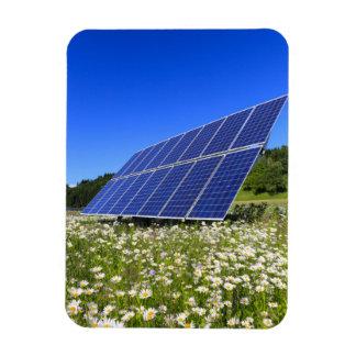 Magnet Flexible Énergie viable de panneaux solaires