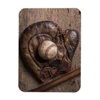 Magnet Flexible Équipement de base-ball vintage