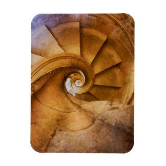 Magnet Flexible Escalier de haut en bas de spirl, Portugal