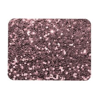 Magnet Flexible Étincelles roses de parties scintillantes de Faux