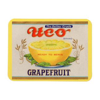 Magnet Flexible étiquette de pamplemousse de marque d'Uco des