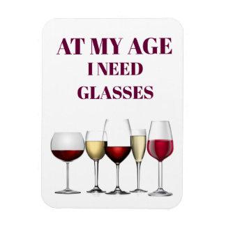 Magnet Flexible Expression en verre de vin
