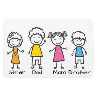 Magnet Flexible Famille
