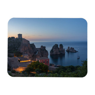 Magnet Flexible Faraglioni et madrague dans Scopello, Sicile