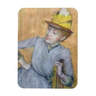 Magnet Flexible Femme assise par | d'Edgar Degas, 1887