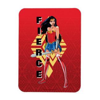 Magnet Flexible Femme de merveille avec l'épée - féroce