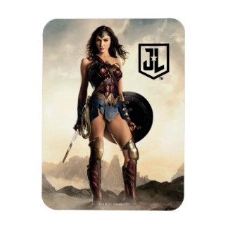 Magnet Flexible Femme de merveille de la ligue de justice | sur le