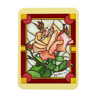 Magnet Flexible Fenêtre rose de pêche - aimant
