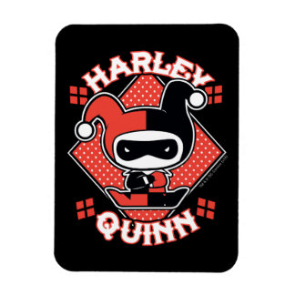 Magnet Flexible Fentes de Chibi Harley Quinn