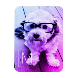 Magnet Flexible Filtre AUTOMATIQUE de votre photo et monogramme -