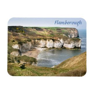 Magnet Flexible Flamborough en photo est de souvenir de Yorkshire