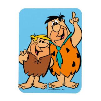 Magnet Flexible Flintstone de blocaille et de Fred de prise de bec
