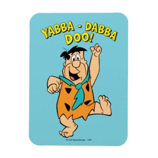 Magnet Flexible Flintstone Yabba-Dabba Doo de Fred !