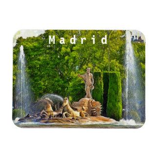 Magnet Flexible Fontaine de Neptune à Madrid
