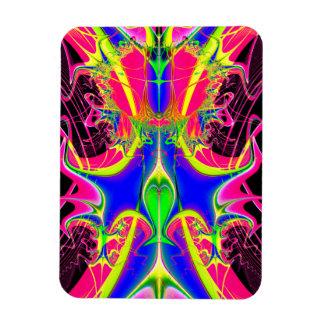 Magnet Flexible Fractale de cacophonie de couleur