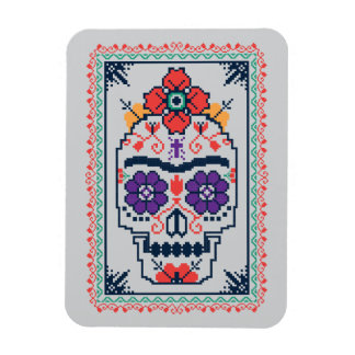 Magnet Flexible Frida Kahlo | Calavera
