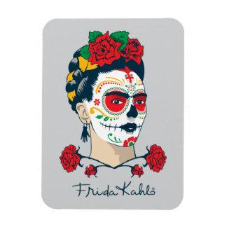 Magnet Flexible Frida Kahlo | El Día de los Muertos