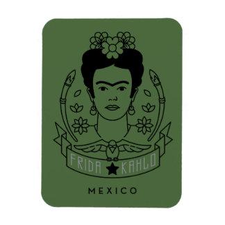 Magnet Flexible Frida Kahlo | Heroína