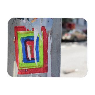 Magnet Flexible Graffiti public de Polonais de téléphone de New