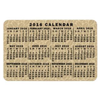 Magnet Flexible Grains de café mensuels de lumière de calendrier
