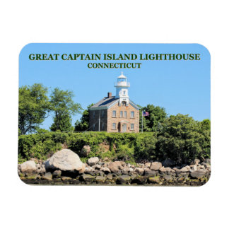 Magnet Flexible Grand capitaine Island Lighthouse, aimant de photo