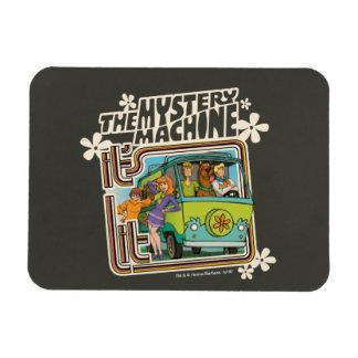 Magnet Flexible Graphique de machine de mystère a Lit de