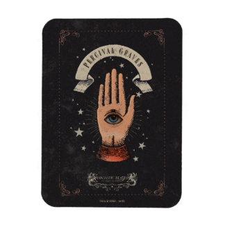Magnet Flexible Graphique magique de main de tombes de Perceval