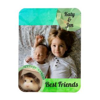 Magnet Flexible HammyVille - l'amitié mignonne de hamster