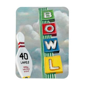 Magnet Flexible Illustration de bowling